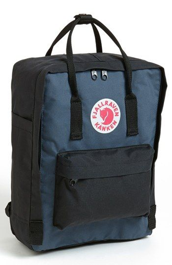 Fjällräven 'Kånken' Backpack - BlackGraphite - 75