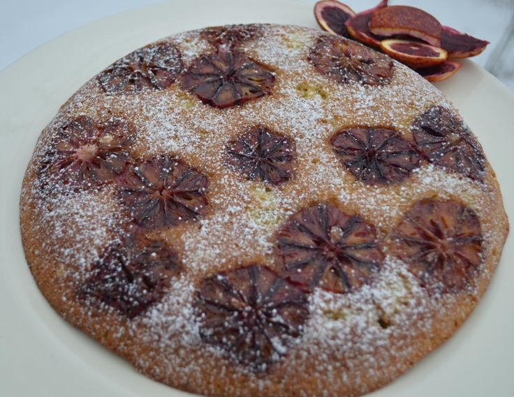 Blood Orange and Almond Skillet Cake via @Jackie Ourman