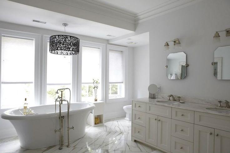 HGTV - love this bathroom so light and calming