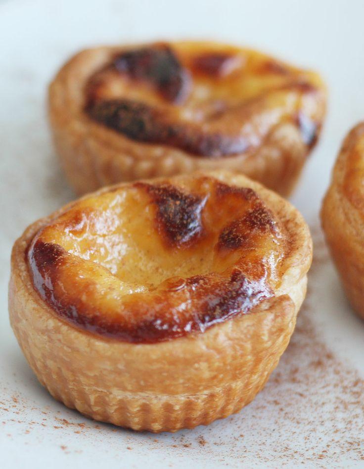 portuguese custard tarts | Yum! | Pinterest