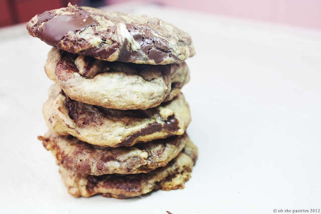 Caramel Chocolate Chunk Cookies | For the stomach (sweet recipes) | P ...