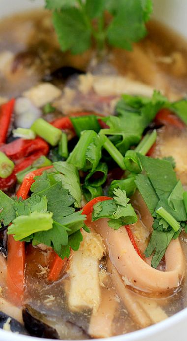 Hot and Sour Soup | Recipe