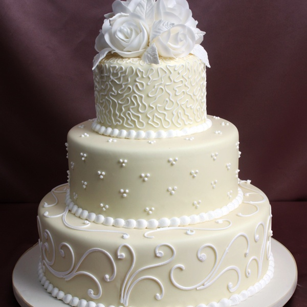 ivory frosting