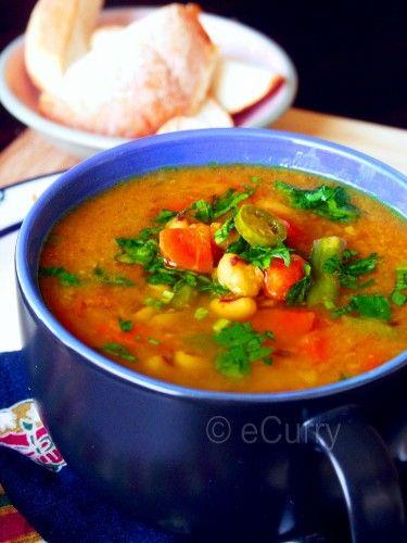 red lentil amp vegetable soup ecurry the recipe blog