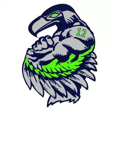 Seahawks 12th Man Football Pinterest