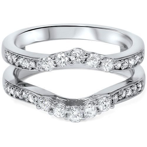 ring insert 55ct engagement wedding guard band