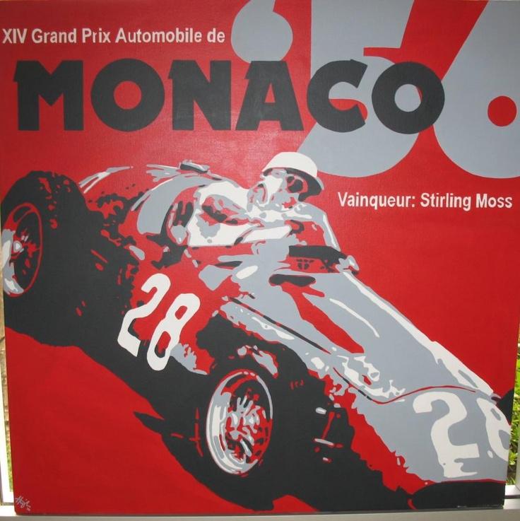 poster grand prix de monaco