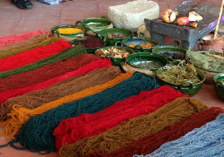 Los colores de la tierra mexicana.