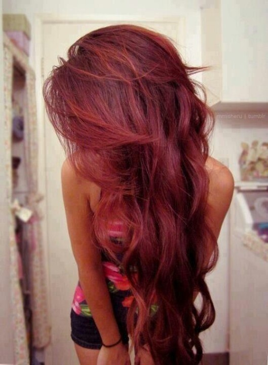 It's decided, my fall hair color is cherry cola. | Style and stuff ...