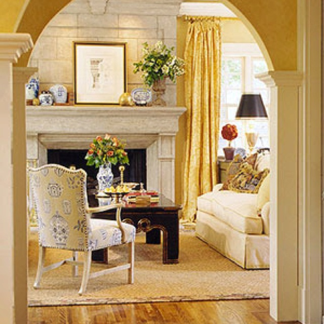 French country living room french country decor pinterest for Living room in french