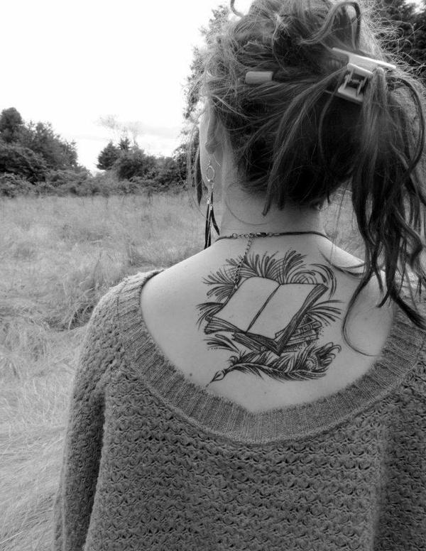 Open Book Tattoo Literary Ink Pinterest