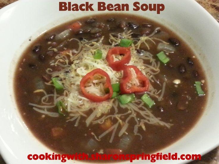 Black Bean Soup - Easy recipe, taste's just like at my favorite ...