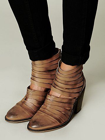 hybrid heel boot / free people
