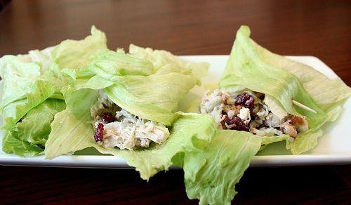 Healthy Cranberry Walnut Chicken Salad - Joyful Abode Sub chicken for ...