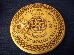 Round Celtic Ouija Board by