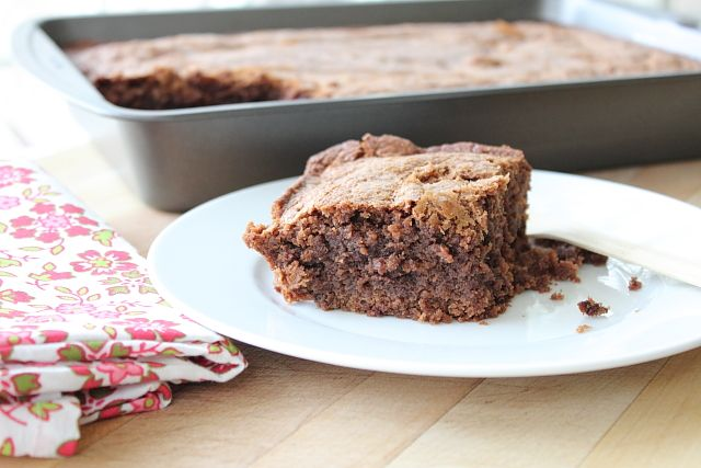 Ancho Brownies~Sounds very interesting and very good~
