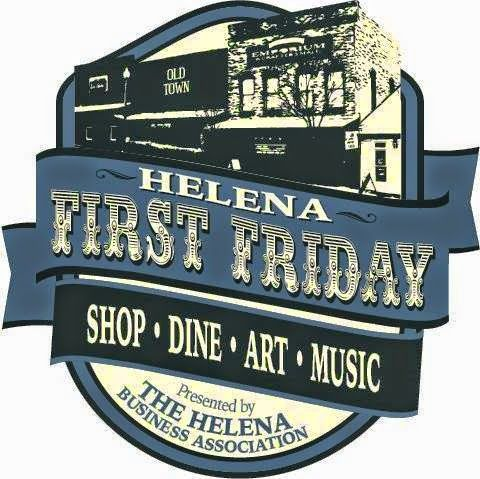 Helena First Friday ~  From the Helena Business Association:  Join us in Old Town Helena for a family festive night out. The shops of Old Town Helena will be open late. Explore Helena Businesses, enjoy live entertainment, dine at one of our restaurants, visit our local art gallery and museum, and discover all that is great about the local businesses in Helena. ~ When: first Friday of most months ~ Where: Old Town Helena ~ Cost: Free