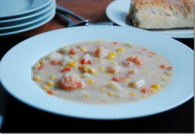 Shrimp & Corn Chowder | Soups | Pinterest