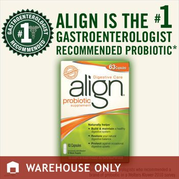 Align? probiotic supplement 63 capsules