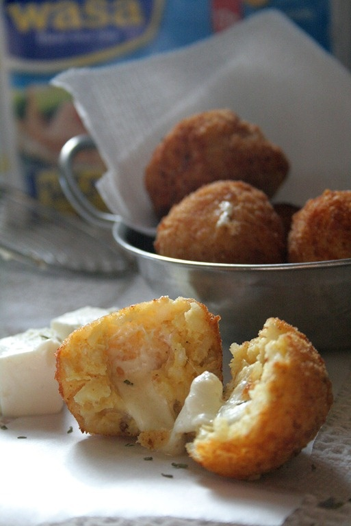 Mozzarella and Asiago Arancini | Favorite Recipes | Pinterest