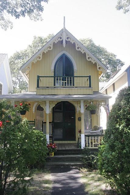 Pin by metamorphosis boheme on house cottage pinterest for Martha s vineyard gingerbread cottages