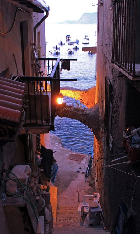 Seaside, Sicily, Italy