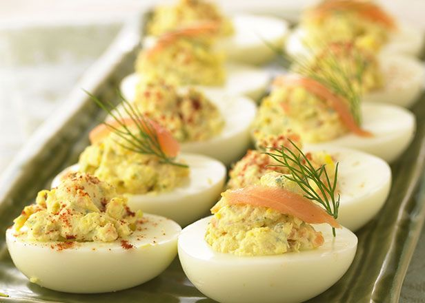 Smoked Salmon Deviled Eggs | Arts N Crafts | Pinterest
