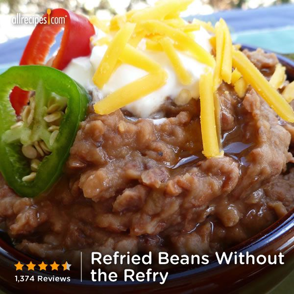 "Refried Beans Without the Refry | ""My father-in-law is from Mexico and ..."
