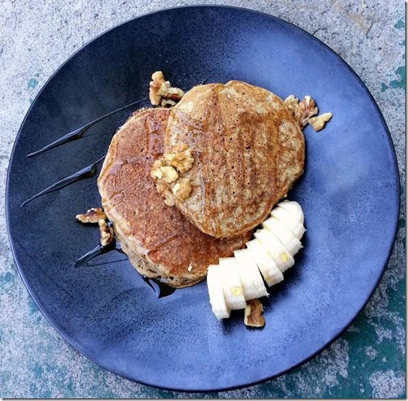 Banana Whole Wheat Pancakes   Get in the Kitchen   Pinterest