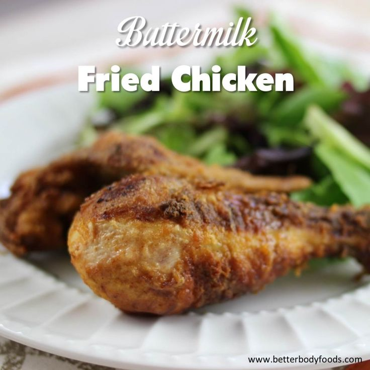 Buttermilk Fried Chicken | BetterBody Foods - made with Coconut Oi ...