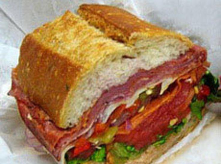 Muffaletta Sandwich | My food | Pinterest