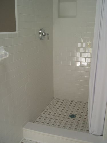 Subway Tile Shower Shower Stall WC Pinterest