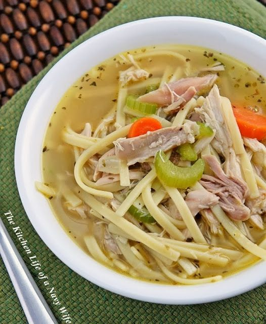Quick Chicken Noodle Josh Approved - and he constantly teases me that ...