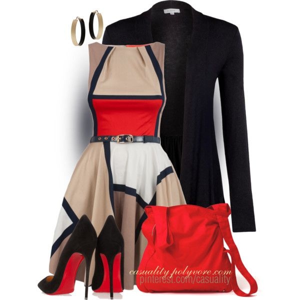So Retro by casuality on Polyvore