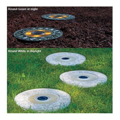 Pinterest discover and save creative ideas for Solar powered glow stepping stones