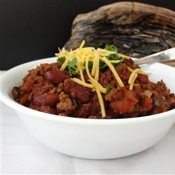 Spicy Slow-Cooked Chili Allrecipes.com I used 97% lean ground turkey ...