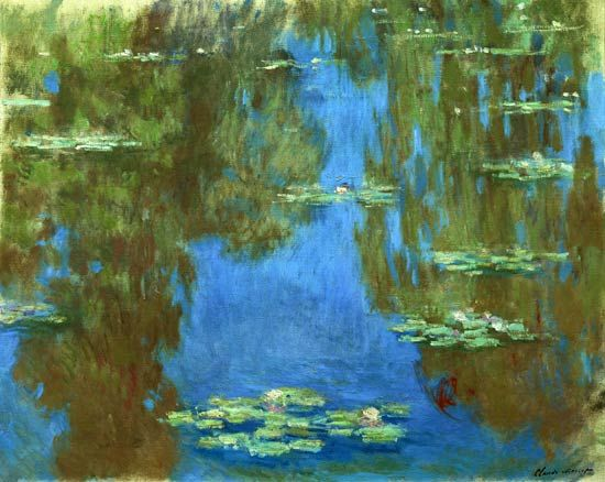 Claude Monet - Water Lilies in Giverny