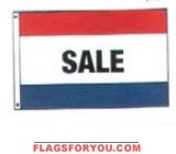 flags sales