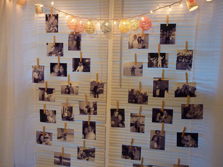 Photo Display Party Ideas Pinterest