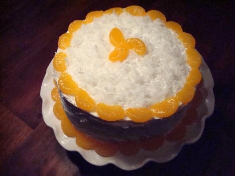 Orange Coconut Cake | Fun with Food | Pinterest