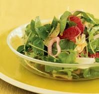 Endive and Watercress #Salad with Blood Oranges, Walnuts, and Walnut ...