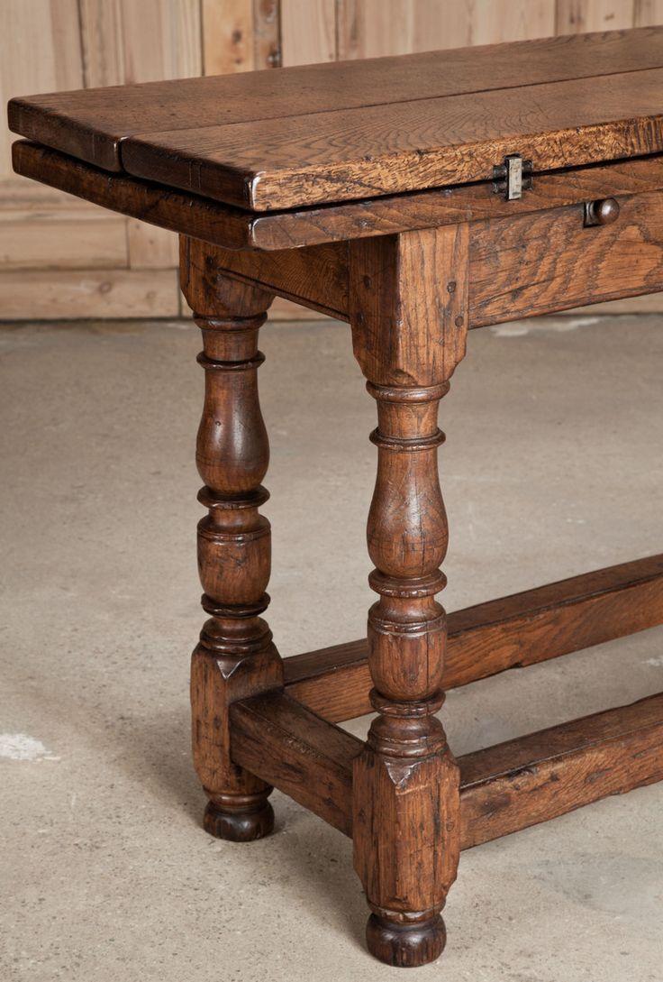 antique flip top sofa table image 3 case studies pinterest. Black Bedroom Furniture Sets. Home Design Ideas