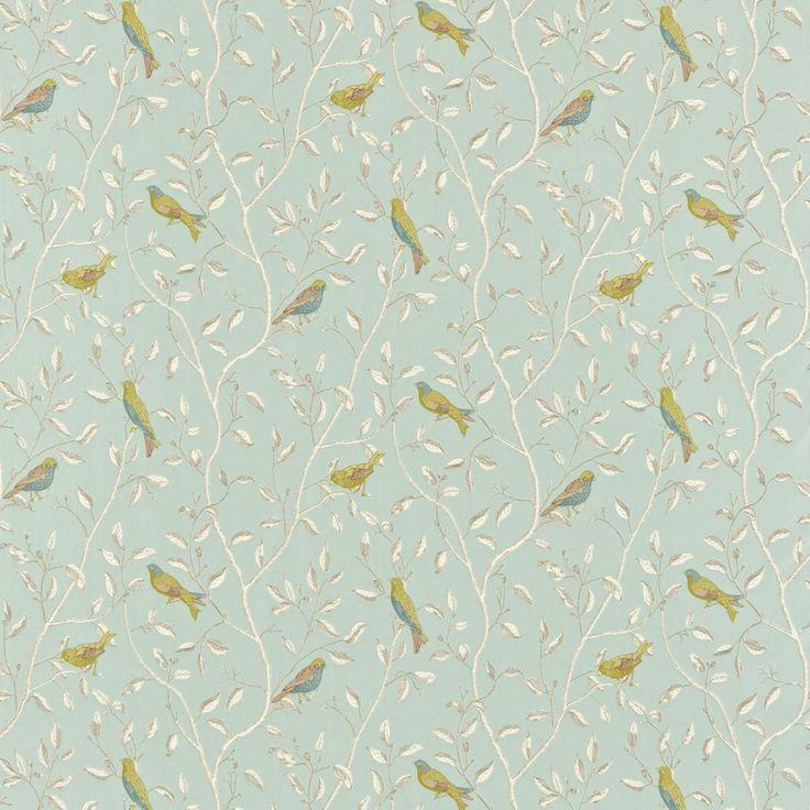 Bird fabric | Curtain fabrics | Pinterest