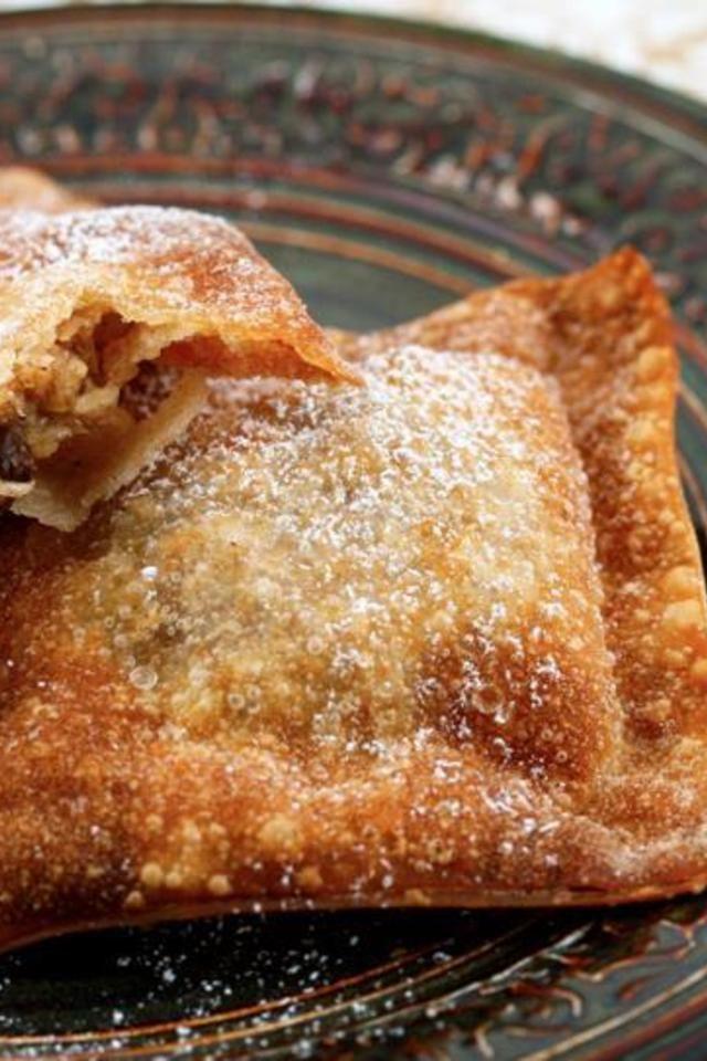 Apple Crisp Wontons | Recipes | Pinterest