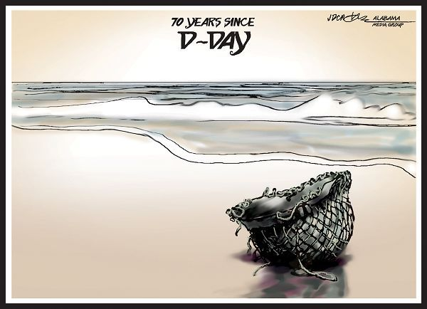 d day cartoon videos