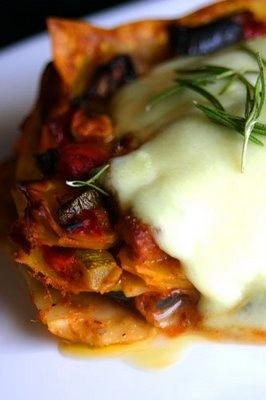 Leftover Ratatouille Lasagna: Makes me want to make roasted eggplant ...
