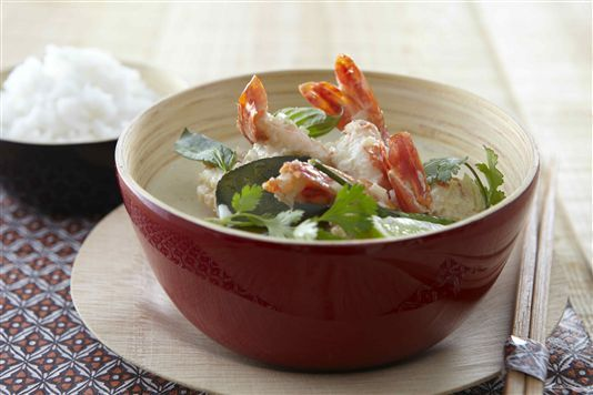 Thai green curry with king prawns recipe | The Nosh Archive | Pintere ...