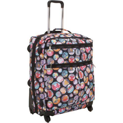 Lesportsac 24 4 wheel luggage