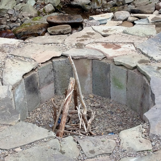 In Ground Fire Pit Fire Pits Pinterest