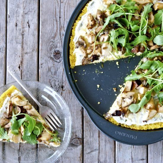wild mushroom risotto wild mushroom and spinach lasagna this pizza ...